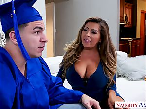 Latina ultra-cutie entices her son's buddy