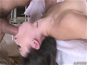 parent spanking dame very first time Melissa Moore prays For harsh fuck-fest