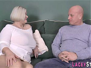 breastjob brit grandmother