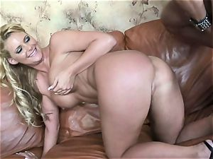 Phoenix Marie gets her steaming cunt crammed with rock-hard man-meat