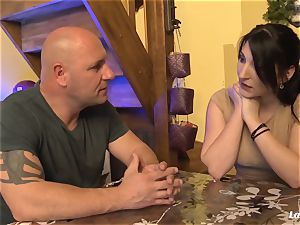 LA beginner - super hot buttfuck ravage with splendid French first-timer