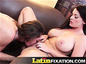 LatinFixation torrid threeway with Sophie Dee