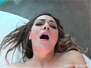 Ashlyn gets a mouthful at what she thinks is a music vid casting