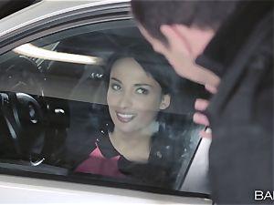 Anissa Kate fuckin' the boss in the car park