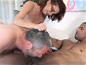 Ashley Graham and hubby love fat ebony dick