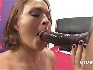 Krissy Lynn Gets A firm big black cock In Her slit