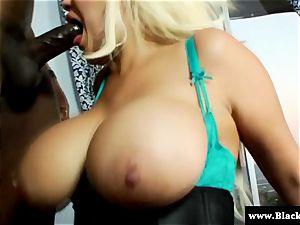 enormous bra-stuffers and enormous arse Bridgette B harsh buttfuck sex