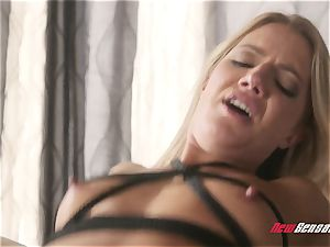 cuckold Candice Dare trussed Up and humped