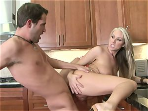 Carolyn Reese gets pumped to the point she can wait to splatter a pouch