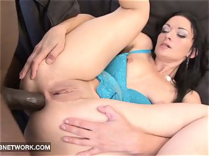 interracial pornography Mature white woman pounded by black rod