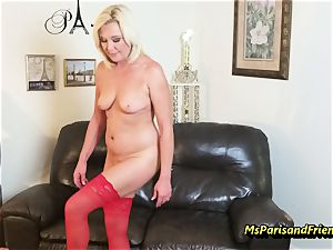pack Up the Strippers wide open labia with Ms Paris Rose