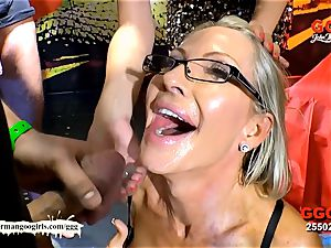 Behind The vignettes - Emma Starr's first-ever mass ejaculation