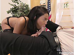 Diamond Helps Her Commander In chief Get A blast Off