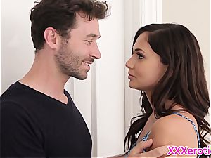 girlfriend pussyfucked by her aroused boy