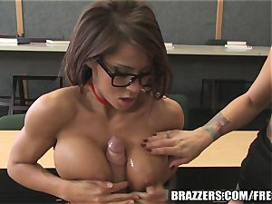 Brazzers - Madison in molten college 3 way
