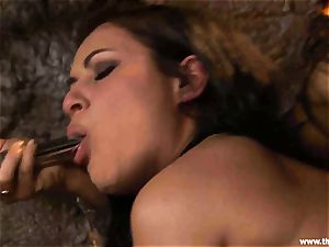 Alluring Charley pursue gets toy porked by Lisa Ann