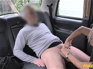 faux cab massage therapist works her magic