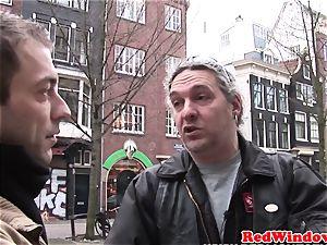 Dutch escort doggystyled until cumsprayed