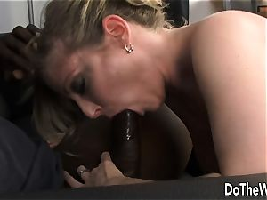 big black cock pounds wife Lya pink as Cuck witnesses