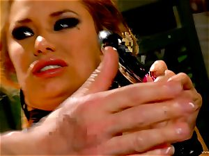 Shyla Stylez takes this hard spear deep in her tight caboose