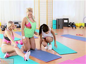sport apartments big funbags lesbos have gym three-way