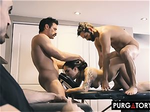 PURGATORY I let my wife drill 2 studs in front of me