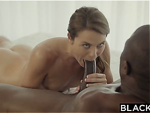 first interracial for crazy Ally Tate