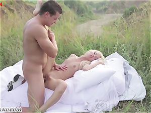 Victoria Puppy - naked cutie in nature