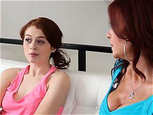 SEXYMOMMA - redhead stepmom anilingus teenagers tasty pink hole