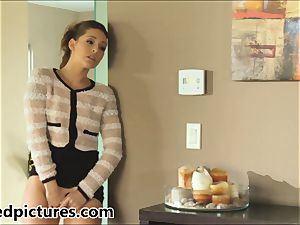 Gracie Glam catches her fellow nailing Brynn Tyler
