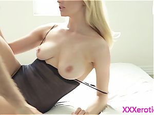 Alluring Alli Ray plumbed good and covered in jism