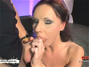 tatted cougar Angie the French buttfuck lover