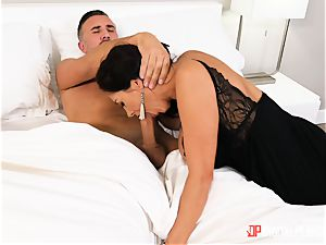 Ava Addams messing around with married suspended Keiran Lee
