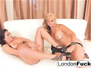 voluptuous allurement with London and Sarah