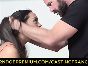 audition FRANCAIS - first-timer hottie drilled and jizz frosted