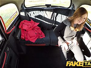 fake cab Linda juicy fucked by drivers ample wood