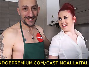 audition ALLA ITALIANA - xxx buttfuck hook-up with first-timer