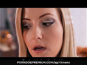 A dame KNOWS - Francys Belle luvs lesbo anal play