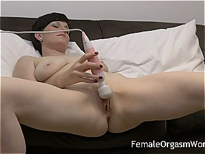 super-naughty cougar jacking saucy cunt to ejaculation