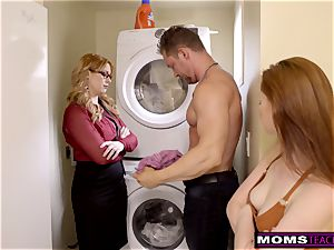 mother Helps daughter-in-law teach Step bro A Lesson S9:E9