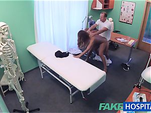 FakeHospital doctor pounds minx in job interview
