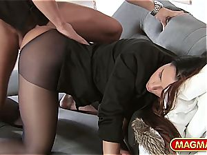 Victoria edible gets nailed with her clothes on