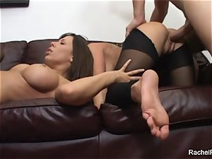 Rachels hard-core romp