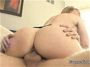 marvelous Nina Hartley gargles everything out of my youthfull wood