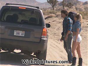 Samantha Saint hitchhikes her way to a yam-sized bone