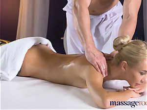 massage rooms cock-squeezing bodied towheaded minx deep-throats and drills