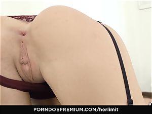 HER limit - Lovenia Lux xxx rectal pummel and gape