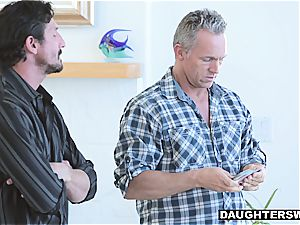 These daddies have some real magic tricks up their sleeves