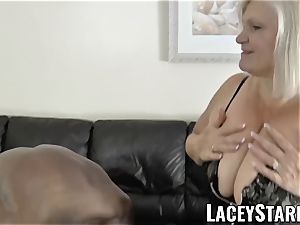 LACEYSTARR - grandmother praying for young dark-hued rod
