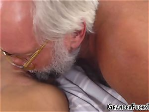 promiscuous nubile blows gramps